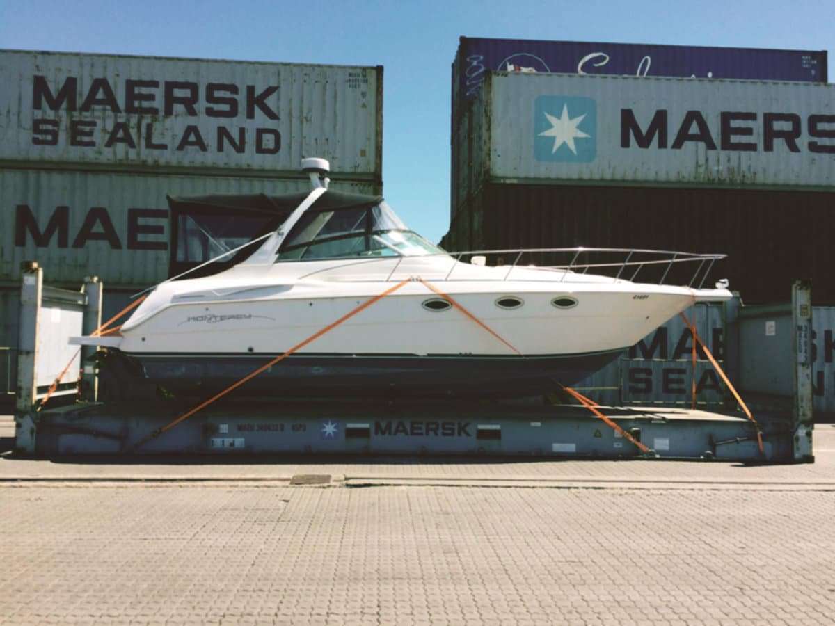 Shipping Methods | Yacht Transport Services | Brooks Yacht